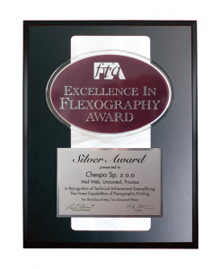 SREBRNY MEDAL w konkursie Excellence in Flexography Award 2015