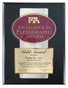 Gold Award Chespa